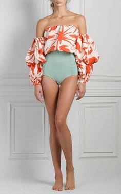 Sirena Off The Shoulder Blouse by JOHANNA ORTIZ for Preorder on Moda Operandi