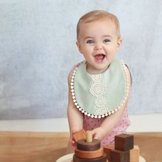 Reversible Bib - Billy Bibs - products for a teething baby