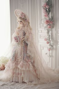 Anniversary Dress, 10 Year Anniversary, Pretty Dolls, Beautiful Dolls, Fantasy Dolls, Lace Outfit, Doll Parts, Custom Dolls, Ball Jointed Dolls