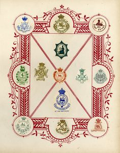 High resolution images from this Victorian scrapbook of crests and monograms. UPPERCASE magazine, issue 23.