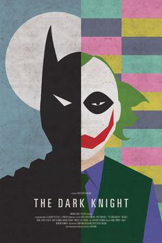 The Dark Knight reimagined...Graphic designer Brandon Shaefer created faux movie posters for about two dozen popular films.