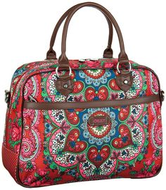 Travel Collection Office Bag Red