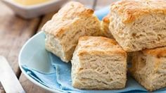 For fluffier biscuits, use cold dairy products.