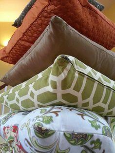 Mix and match pillows