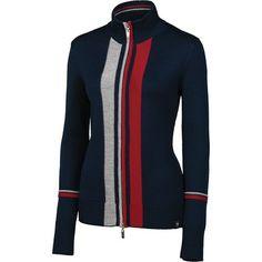 Neve Kara Sweater - Merino Wool, Full Zip (For Women)