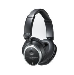 """Audio-Technica QuietPoint ATH-ANC7b Active Noise Canceling Headphones: Perfect for long flights, these headphones """"listen"""" to the surrounding environment -- and actively cancel it out, reducing environmental noise by up to 85%."""