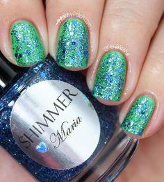 Shimmer Nail Polish  Maria by ShimmerPolish on Etsy, $12.00