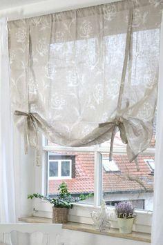 Multi Ruffle Curtain Custom Ruffled Valance Natural Cotton Topper ...
