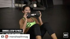 #Repost @menshealthmag with @repostapp ・・・ This 3-move workout from @alexia_clark will carve the core you've been craving. These simple…