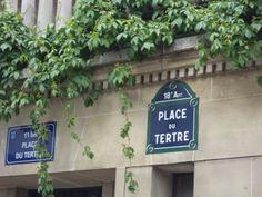Montmartre. Place du Tertre.