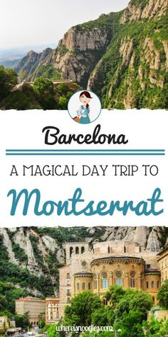 Get out of Barcelona city and head to the mountains of Montserrat, where you'll find a beautiful monastery and amazing scenery for as far as the eye can see