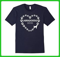 Mens Labradoodle Mom Women's Dog Gift T-Shirt XL Navy - Animal shirts (*Amazon Partner-Link)