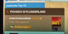 """Picknick in Plunderland"" - Nr. 1 in der neobooks-Top-Ten."