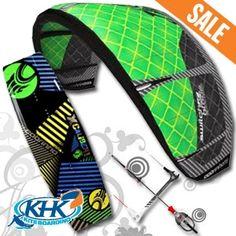 2013 Cabrinha Switchblade Kite Plus Board Kiteboarding Package