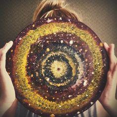 #galaxy #paskevicius #universe #mandala #painting