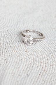Beautiful & Simple - maybe a smaller diamond
