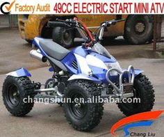 49cc electric start mini atv,kill swtich,headlight website: www.harryscooter.com email: sales2@harryscooter.com Skype: Sara-changshun