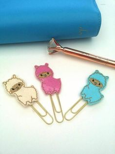 Check out this item in my Etsy shop https://www.etsy.com/uk/listing/505227198/llama-planner-clip-llama-paper-clip