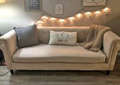 String Lights, Love Seat, Couch, Furniture, Home Decor, Settee, Sofa, Twinkle Lights, Small Sofa