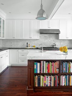 Sometimes a remodel is less about updating the look of a space than it is about a return to architectural roots. Such was the case with the kitchen of an Arts