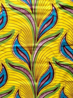 A personal favorite from my Etsy shop https://www.etsy.com/listing/476118935/african-print-fabric-dutch-wax-ankara