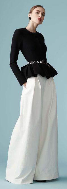 Carolina Herrera... Classic Chic.... LOVE
