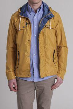 Premium Lounge Fisherman Hooded Clasp Spring Jacket
