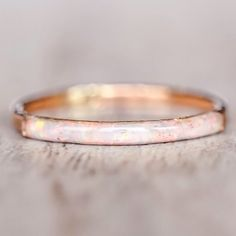 Mermaid Rose Gold Opal Ring || Available in our 'Mermaid' Collection || www.indieandharper.com