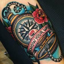 Resultado de imagem para tradicional tattoo