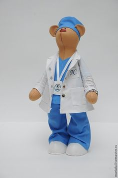 Купить Мишка доктор - бежевый, подарок, подарок на любой случай, подарок на день рождения