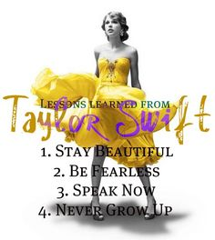 Lessons Learned From Taylor Swift. With @Elizabeth Johnson.