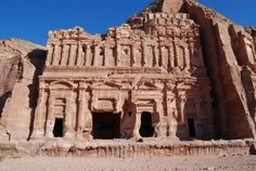 Petra, Jordan -- was supposed to go on an archaeological dig here... very sad i missed out on it but i will visit one day ! :)