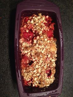Berry Banana Bread made in 7 minutes using our Silicone Steamer in the microwave. Very moist@