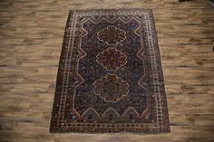 Antique 7x10 Abadeh Persian Area Rug - Online Unlimited Source of Area, Oriental, Persian and Antique Rugs!