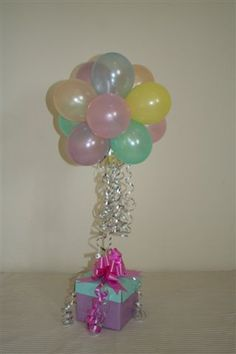 Balloon tree | Topiary Trees - Balloon Printing Bouquets Party Shop Decorations ...