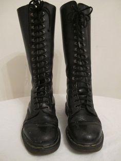 Share on Facebook      Vintage 80's knee high Doc Martens