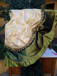 Hey, I found this really awesome Etsy listing at https://www.etsy.com/listing/170185410/christmas-tree-skirt