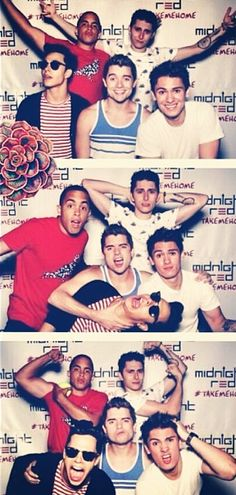 Midnight Red - such a fun group of guys...oh, and they can sing and dance! :)