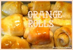 Mmmmmm. My mouth is watering just looking at these orange rolls! They could not be more delicious. Seriously best orange roll recipe EVER>