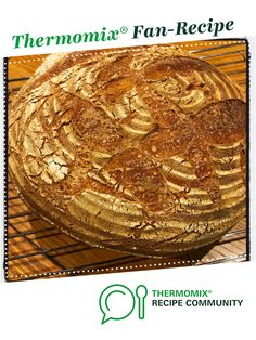 Recipe Sourdough Bread by Fiona Dalgleish, learn to make this recipe easily in your kitchen machine and discover other Thermomix recipes in Breads & rolls. Sourdough Recipes, Sourdough Bread, Bread Recipes, Richard Bertinet, Thermomix Bread, Bread And Pastries, Recipe Community, Food N, Fermented Foods