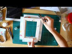 Tutorial de como decorar un marco de fotos - YouTube