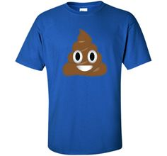 Emoji Poop Shirt ~ Novelty Funny t-shirt for Men Women Kids shirt