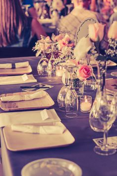 farm wedding outdoor table design flowers