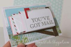 """My creative corner: """"You've got mail"""" card"""