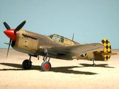 米 戦闘機 Curtiss P-40L Warhawk