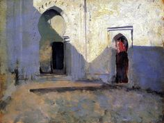 Entrance to a Mosque (also known as Courtyard, Tetuan) John Singer Sargent - 1880 by BoFransson, via Flickr
