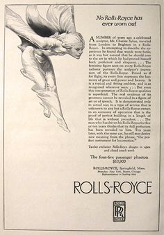 1923 Vintage Rolls-Royce Car Ad, Vintage Car Ads ~ Other Rolls Royse, Preppy Car Accessories, Vintage Rolls Royce, Family Car Decals, New Luxury Cars, Rolls Royce Cars, Bugatti Cars, Rolls Royce Phantom, Suv Cars