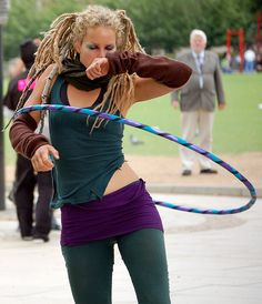 Lisa Lottie. Hula hooping bad ass. In love she is amazing and was discovered on youtube when people made videos of her hula hooping in the street