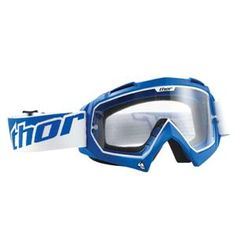 Thor Motocross Enemy Goggles - Blue