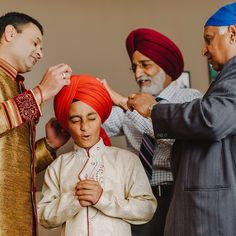 awesome vancouver wedding This little guy just stoked to be wearing his first turban - no one told him it would hurt! #indianwedding #indianweddingphotographer #momentsovermountains #wedding #vancouver #indian_wedding_inspiration #indian #wedding #weddingphotographer by @mathiasfast  #vancouverindianwedding #vancouverwedding #vancouverwedding